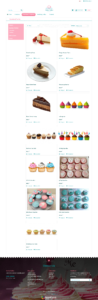 Brandcrock CakeShop Product Lising