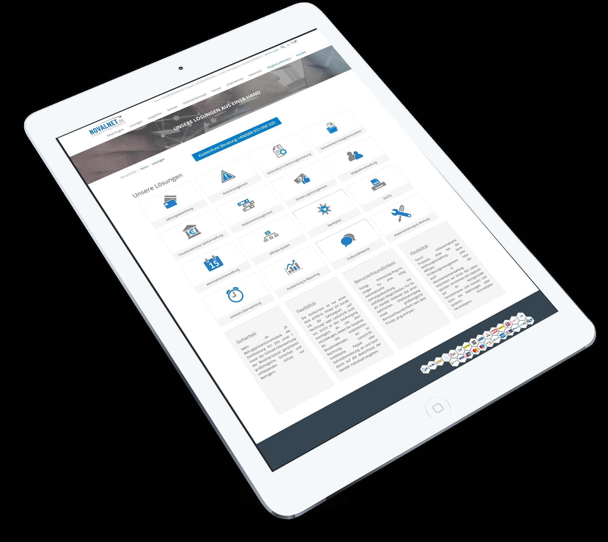 Brandcrock-Novalnet_BrandCrock-portfolio-service-ipad