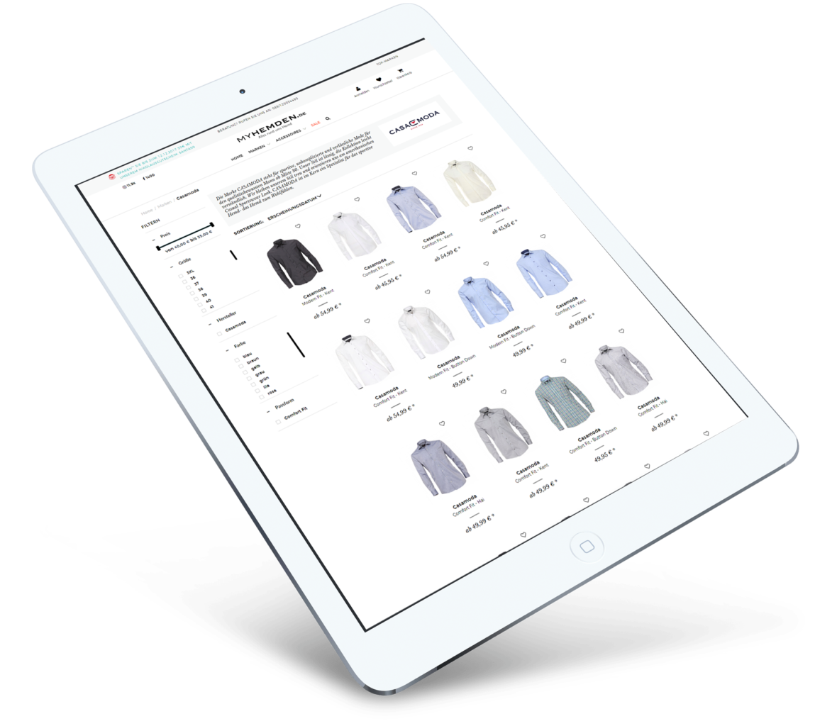 Brandcrock-shirts collection ipad