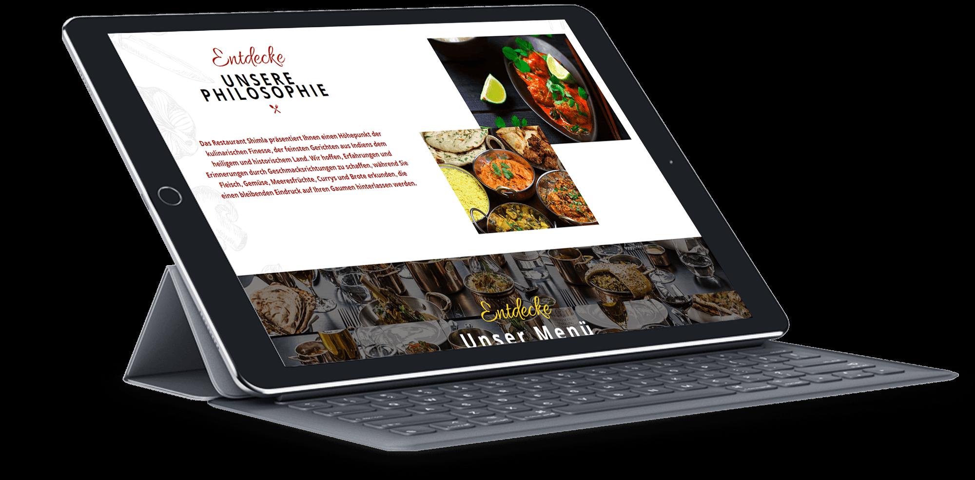 Brandcrock-shimla restaurant-BrandCrock-portfolio-Our History-ipad