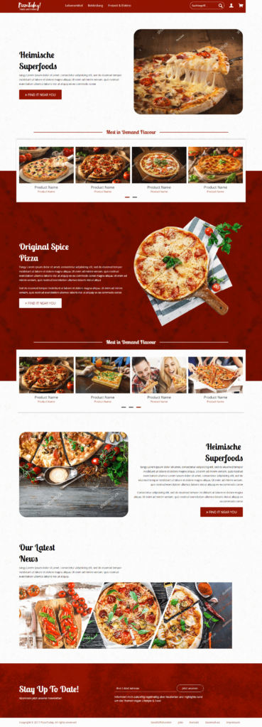 Brandcrock-demopizza web