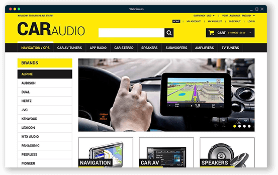 Brandcrock-CARAUDIO home page