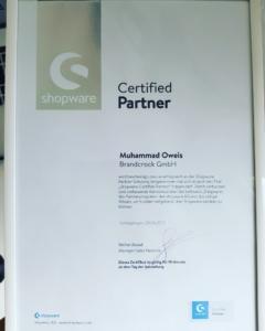 Brandcrock-Shopware Certified Partner
