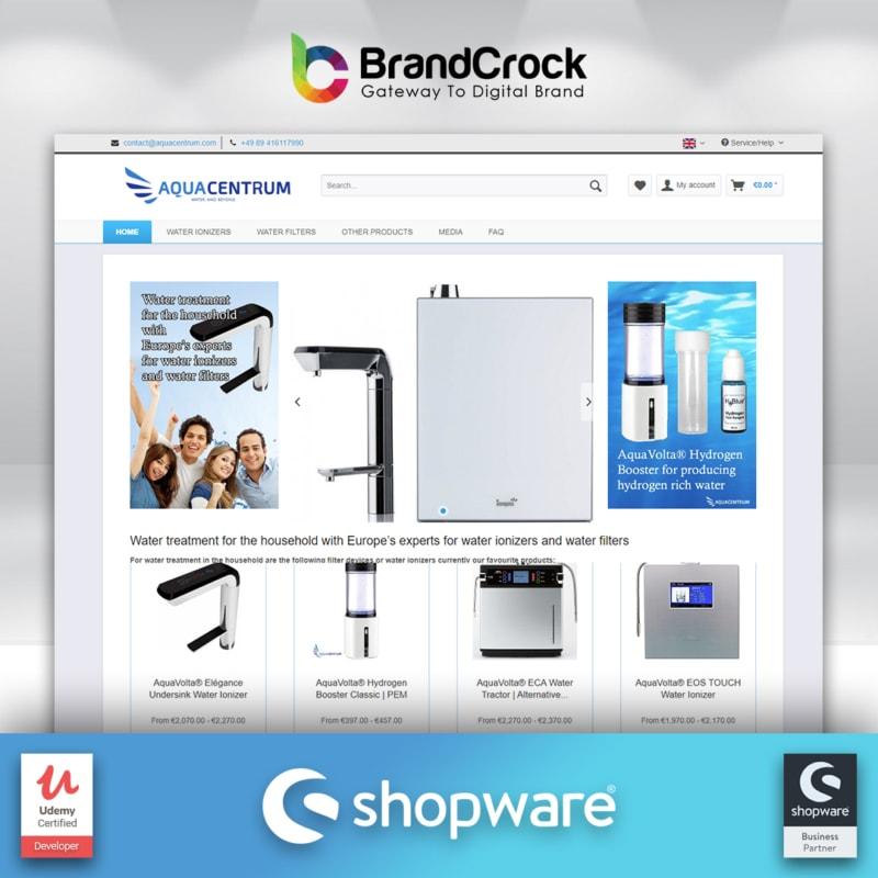 Aquacentrum Relancez avec Shopware
