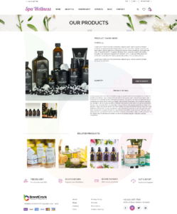 Brandcrock Wellness Theme Product Detail