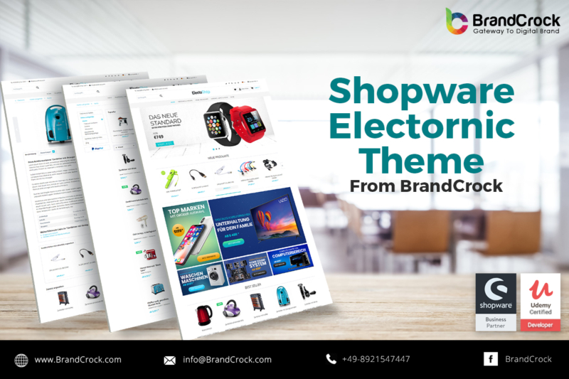 shopware theme tech electro responsive