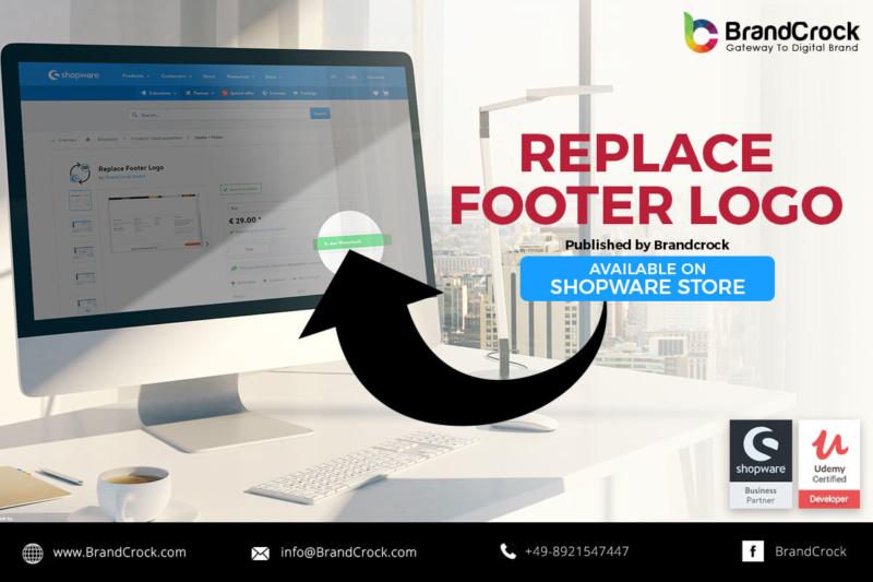 Shopware Plugin Remplacer le logo du pied de page
