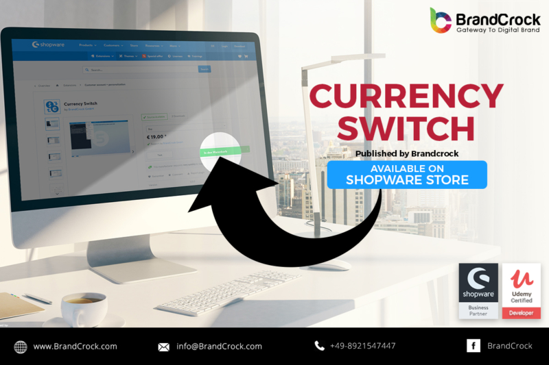 shopware plugin currency switch
