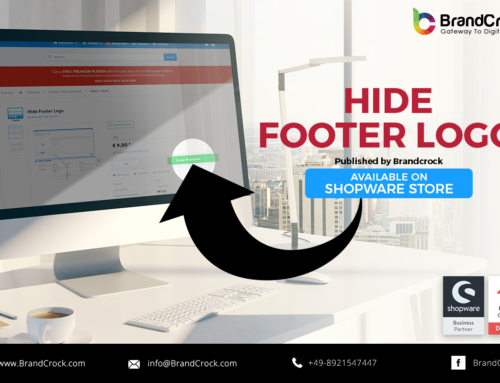 Shopware Plugin Nascondere Footer Logo
