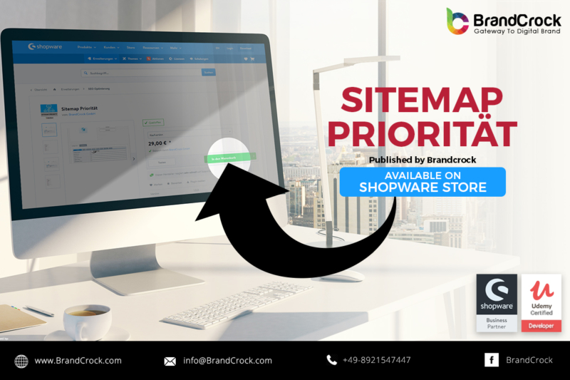 Shopware Plugin Sitemap Priorität
