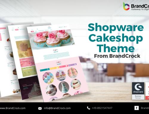 Shopware Theme  Réactif en pâtisserie