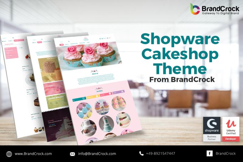 SShopware Theme Réactif en pâtisserie