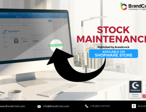 Shopware Plugin Stock Maintenance