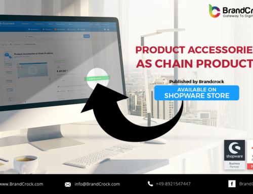 Shopware Plugin  Accessoires de produits en tant que produits en chaîne