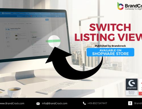 Shopware Plugin Cambio di visualizzazione dell'elenco