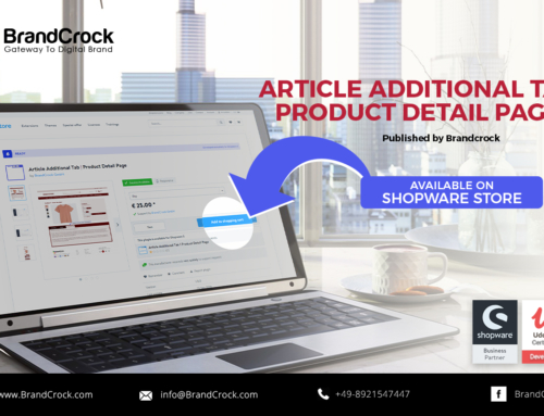Shopware 6 Plugin Article Additional Tab