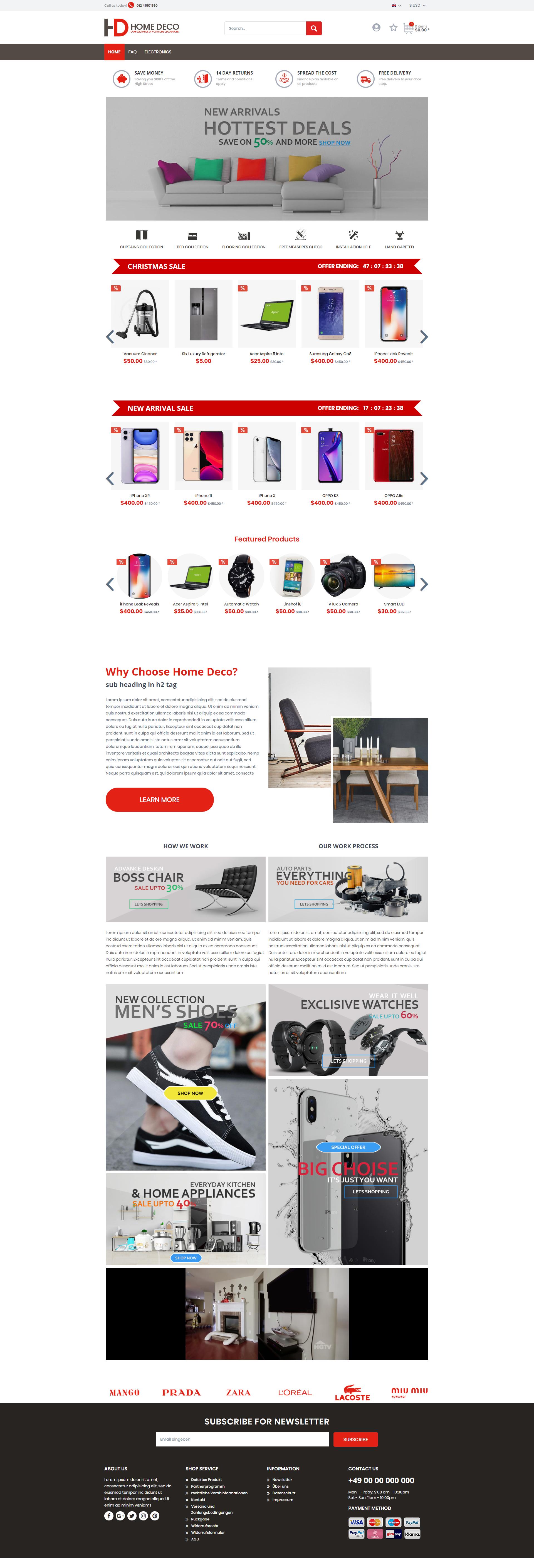 HomeDeco -brandcrock.com